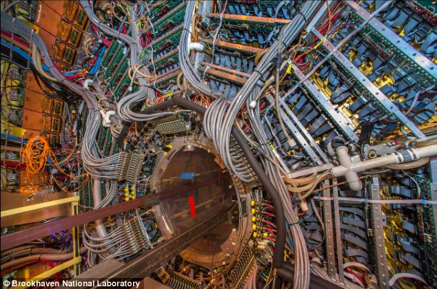 The RHIC, the world's second most powerful particle accelerator after Cern's LHC,  is about to get a massive upgrade to boost its power and push experiments into uncharted waters. The Solenoidal Tracker at RHIC (STAR) - a detector that tracks the particles produced by each ion collision - is pictured