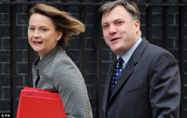 Labour couple Ed Balls (MP since 2005) and Yvette Cooper (MP since 1997) both serve in Ed Miliband;s shadow cabinet
