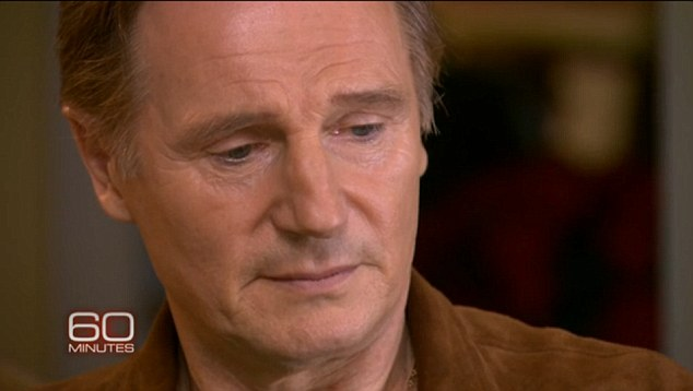 Grieving: Despite the passage of time, Neeson still can't believe the death of his wife was real