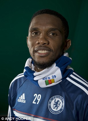 A former lover of Chelsea footballer Samuel Eto'o has accused the striker or being seven years older than he claims to be