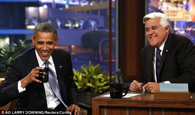 Tonight: Taxpayers footed the more than $2 million bill so Obama could appear on the Tonight Show with Jay Leno