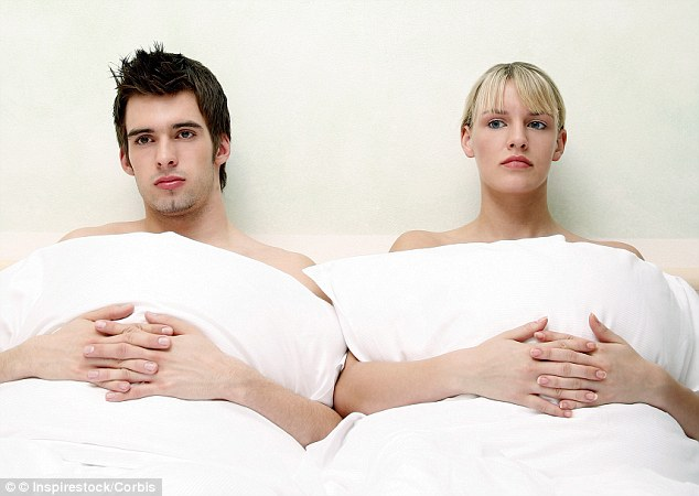 Should we? Shouldn't we? Pain and soreness during sex was a preoccupation for 38 per cent of women and over a third were worried that sex may not be as enjoyable as before