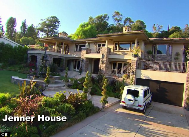 Not the real deal: The family chose to use exterior shots of a house that is not actually theirs for security purposes