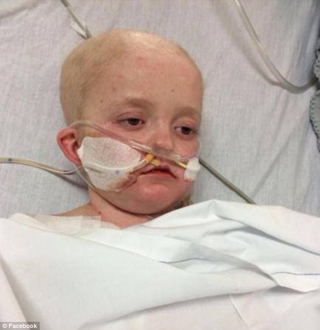 Deadly virus: Josh is in hospital battling a virus that could claim his life, even though a drug exists that could cure it
