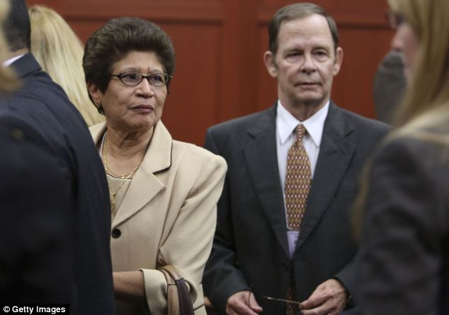 George Zimmerman's parents Gladys and Robert Zimmerman filed their lawsuit on Monday in state circuit court in Florida