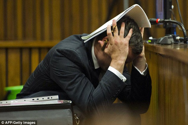 The Photos That Pistorius Couldnt Bear To See Court