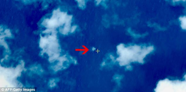 False hope for resolution: This image released by Chinese authorities was initially billed as the crash site of what could have been Malaysia Airlines Flight 370 - this was later refuted by authorities