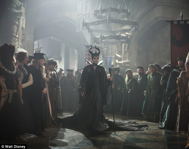'Then you will be afraid': Maleficent walks through the castle