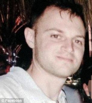 Tragic: Kenneth Bellando, 28, was found dead in an apparent suicide on March 12