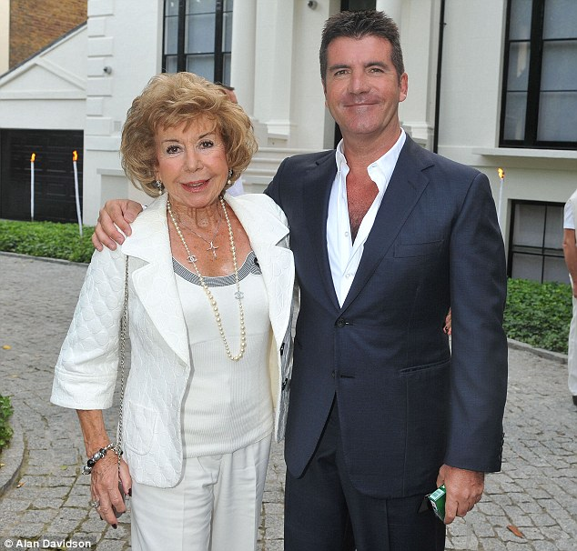 Simon Cowell was very close with his mother before her death
