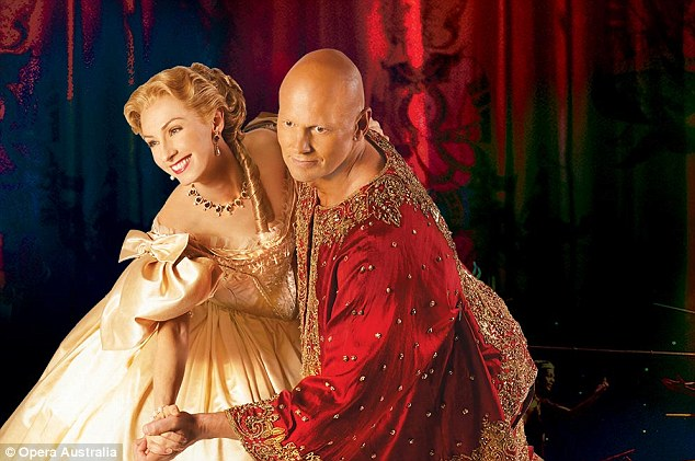 Getting to know you: Lisa McCune and Teddy Tahu Rhodes as the leads in The King and I