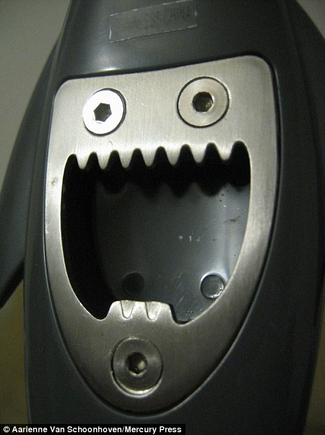 Scary face in an object