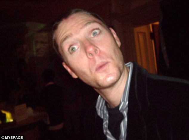 Brian Dickson, pictured in a photo from his Myspace account, pleaded not guilty to killing Qian Liu