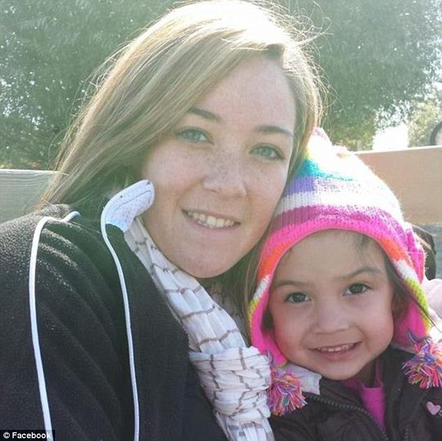 Tragic: Alyssa Dougan's daughter Zoie, pictured, was tragically gunned down in October by a man shooting at trash. Even in the aftermath, Dougan pleaded with authorities not to press charges against her daughter's unnamed shooter