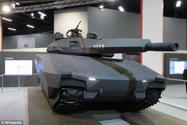 The idea of the PL-01 is to try and eliminate the infrared, radar and visual signature of the traditional tank