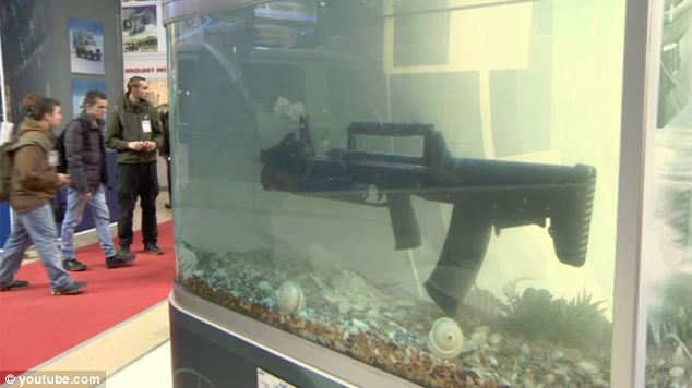 The underwater 'Kalashnikov': Russia showcases its first ever efficient amphibious assault rifle, the ADS
