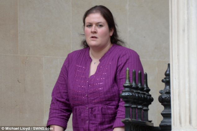 Rhiannon Brooker, 30, is accused of falsely claiming her boyfriend raped and assaulted her before using the allegations as 'extenuating circumstances' in a failed bid to get out of her legal exams