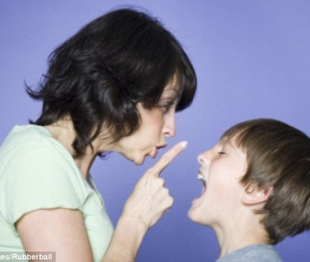 Confrontation Shouting Ignoring And Harsh Punishments May Make Naughty Childrens Behaviour Worse Researchers