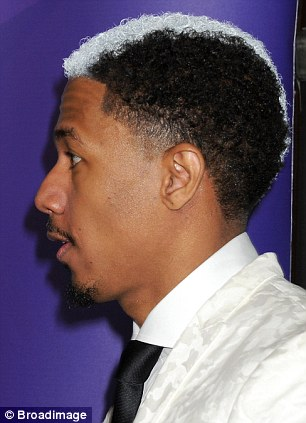 Nick Cannon Shows Off New Skunk Hairstyle A Week After