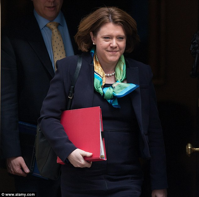 Resignation: The Basingstoke MP, pictured leaving Downing Street yesterday, stood down as Culture Secretary this morning following controversy over her mortgage claims and the tone of her apology to MPs