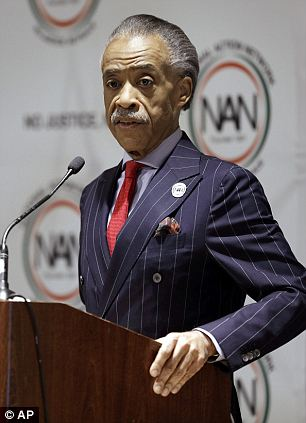 Under scrutiny: Al Sharpton, seen here on Wednesday, claimed that he started working as an FBI informant in 1984 after he was threatened by a mobster, but new reports contradict that timeline