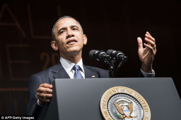 Delivering? President Barack Obama, shown Thursday speaking at the Lyndon B. Johnson Presidential Library, has promised for years that his signature health insurance law would insure everyone, or nearly everyone, in America