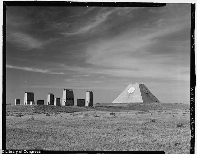 Middle of nowhere: This pyramid was part of the U.S. missile defense system located in Nekoma, North Dakota