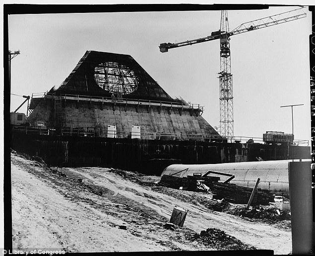Short-lived: The complex was deactivated on 10 February 1976 after less than a year of operation.