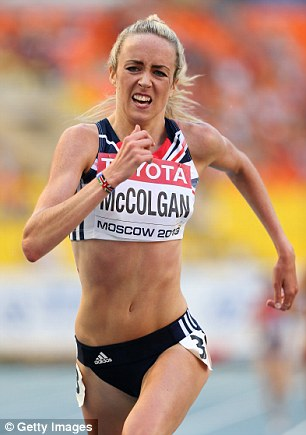 Golden girl: Elish McColgan