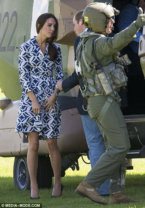 Kate Duchess Of Cambridges Dress For Day Two Of