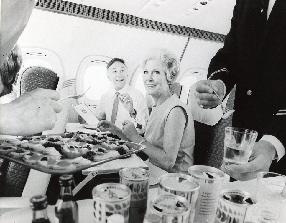 Caviar and canapes: British European Airways Sovereign First Class in the 1960s