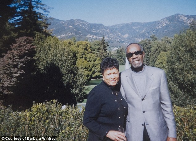 Happy days: The red carpet wasn't exactly rolled out for Barbara and Vernon when they were invited to Oprah's Legends Ball. They were seat in a back corner of the second floor and were told not to mingle with the celebrities