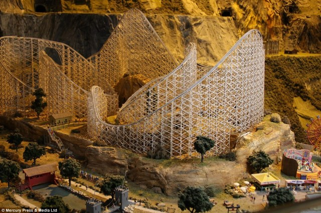 The hit attraction was recognised by Guinness World Records as the largest model of its kind in the world