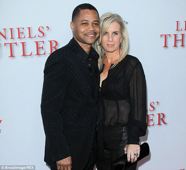 Image result for CUBA GOODING JRAND WIFE PICS