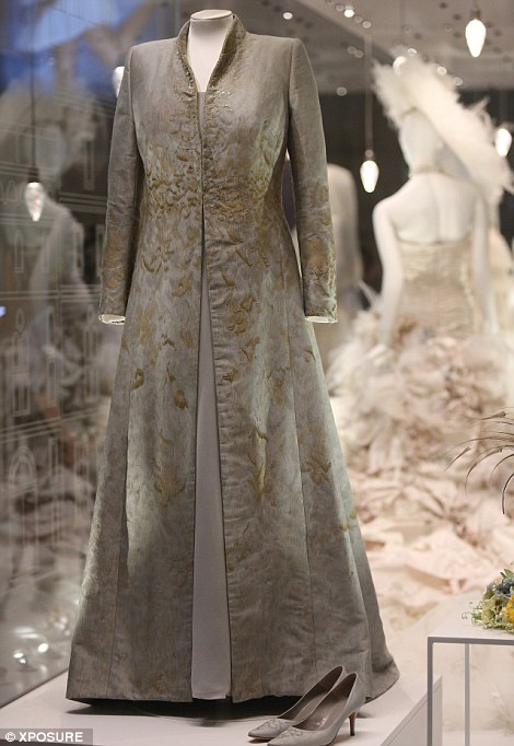 Inside The VampAs Bridal Exhibition Featuring Gown Worn By