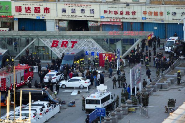 Fresh terror attack in China kills dozens [many injured]