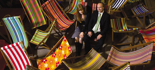 Chillax: Founder of Southsea Deckchairs gets comfortable