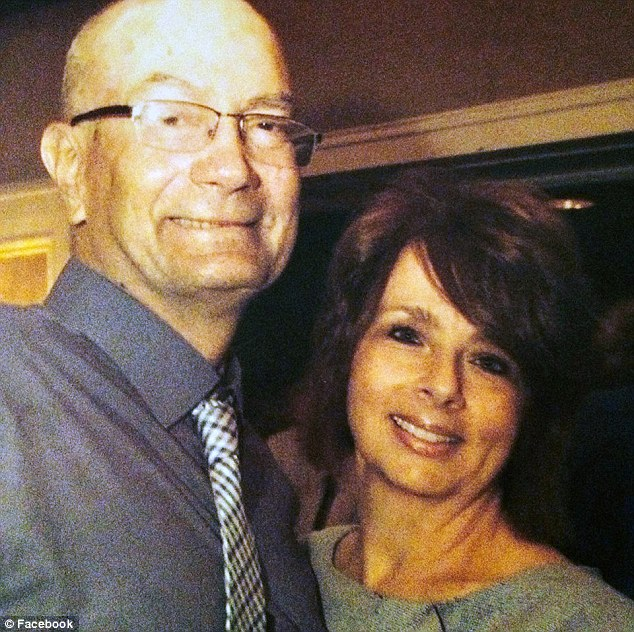 The neighbors: The Krlichs claim the harassment began when they tried to buy the home of their neighbors, John and Marlene Clemente (pictured) in 2007
