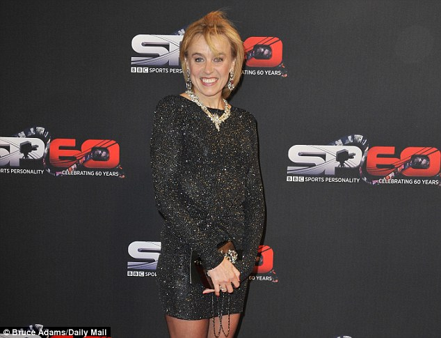 Move: Liz McColgan, seen here at the 2013 BBC Sports Personality of the Year awards, has relocated to Doha