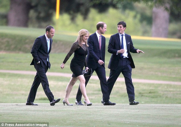 Wardrobe change: For the reception, the wedding guests, including the two princes, will put on costumes