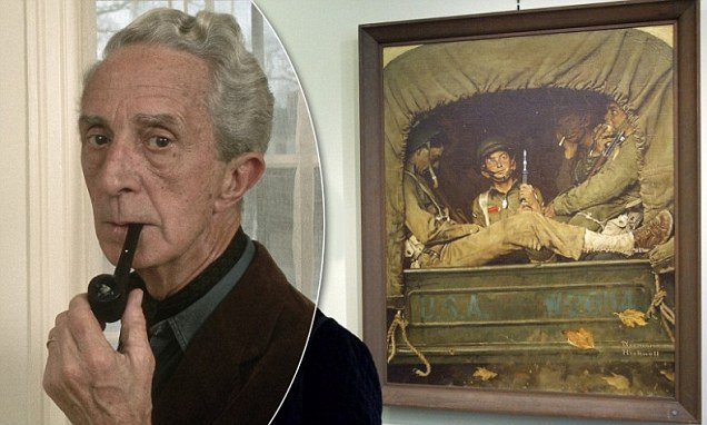 Norman Rockwell Painting Discovered In Storage Expected To Fetch 2m At Auction Daily Mail Online