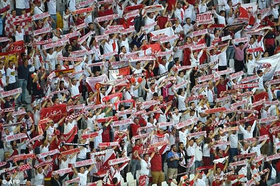 Image result for sevilla fans