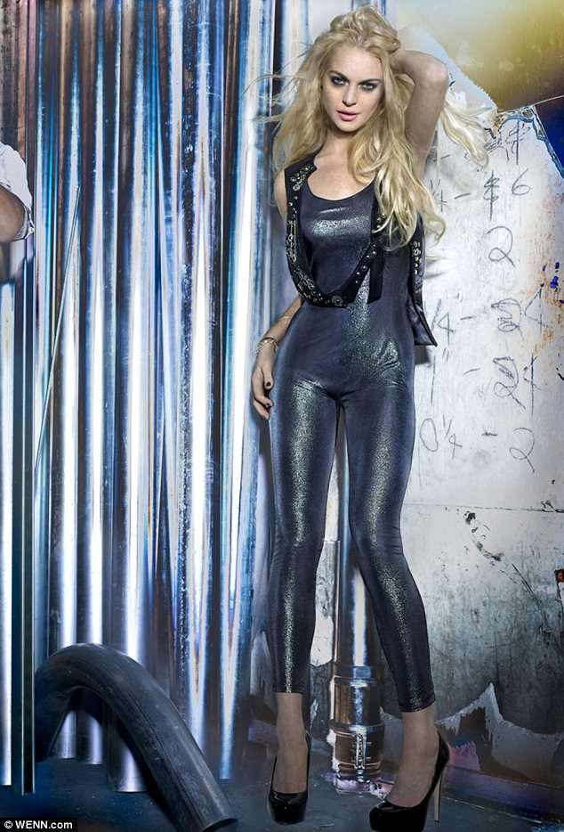 Lawsuit: Lindsay sued the maufacturers of her 6126 line (pictured), D.N.A.M Apparel Industries, last year for $1million but they are countersuing her for $5million