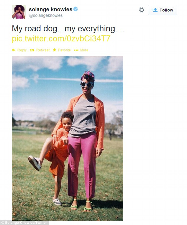 Teen Mom: The sometime DJ also shared a snap of her 'road dog,' her 'everything' - nine-year-old son Daniel aka 'Julez' whom she had at age 17