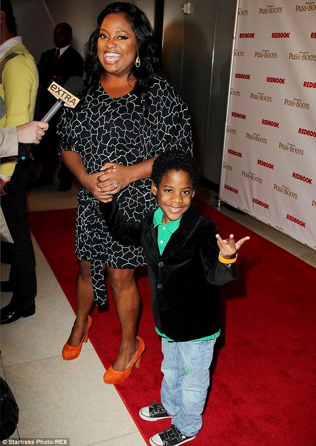 Custody battle: Sherri Shepherd is locked in a battle over her son Jeffrey Jr., pictured in New York in 2011