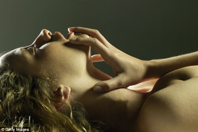 The researchers analysed a variety of areas to find the most sensitive, including the neck, breast and areas of the vagina