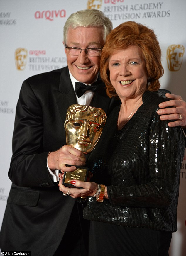 Special Award: Paul O'Grady presents Cilla Black with the TV BAFTAs highest honour