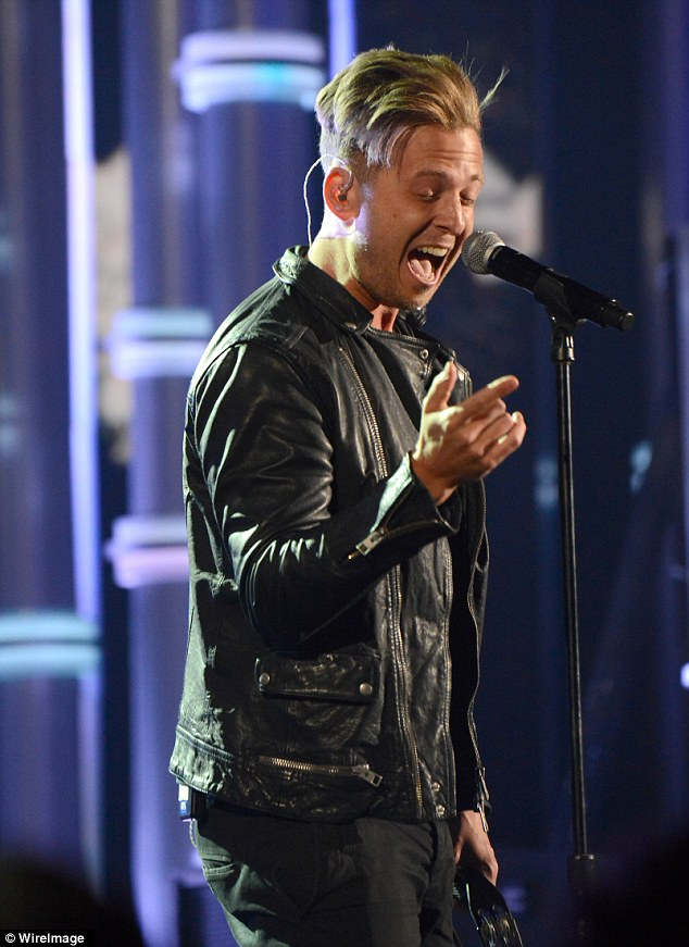 Hes Counting His Lucky Stars Ryan Tedder Beams With