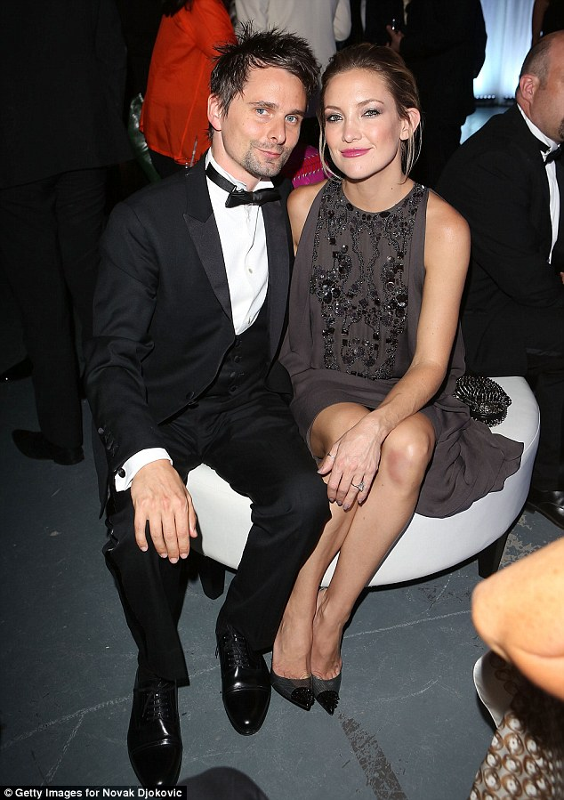 Wedding bells? Kate Hudson and Matt Bellamy have been engaged for three years, and the actress recently told Editorialist magazine that she wanted to get married 'sooner rather than later'