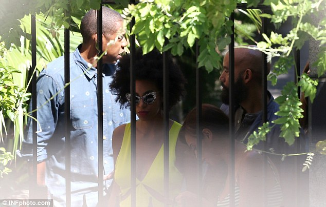Unexpected: Solange and Jay-Z's altercation was captured on hotel surveillance video and leaked to the Internet